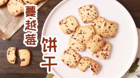 烘焙新手从蔓越莓饼干开始, 简单易做0压力