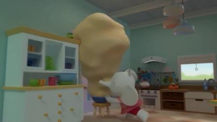 缇娜托尼:小猪们已经很饿了,可缇娜还没有把馅饼做好!
