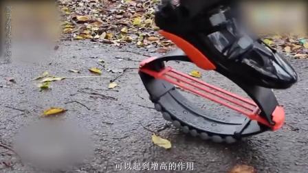 中国牛人发明高科技运动鞋, 穿上不仅方便运动还