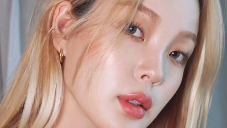 美妆教程, 一款干净简约的韩系女生妆容, 适合多种场合!