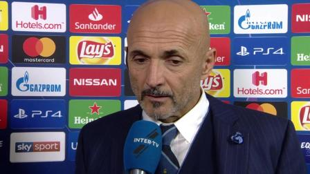 INTER 1-1 PSV  LUCIANO SPALLETTI INTERVIEW We were too frantic after their goal
