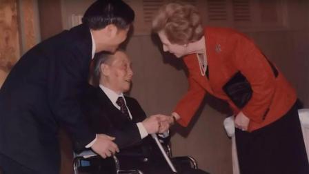 前英国首相撒切尔夫人亲自拜访中国抗战老兵