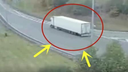 大货车司机被扣12分, 一直哭喊自己比窦娥还冤, 调看监控却无言以对