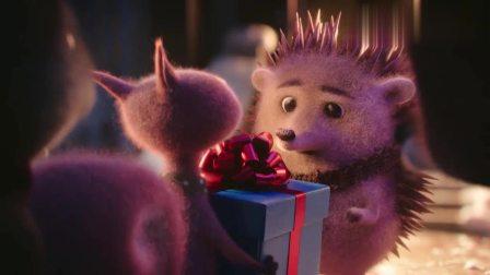 暖心动画短片《初次圣诞节》, 带刺的小伙伴要怎样获得圣诞抱抱?