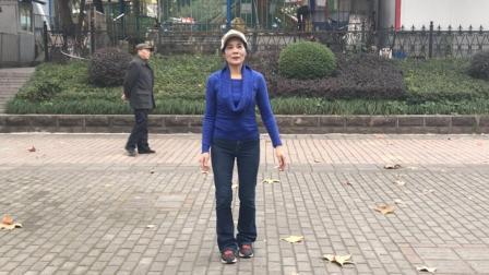 62岁老奶奶教你跳鬼步舞, 一共26步, 看完多练习你也能成高手