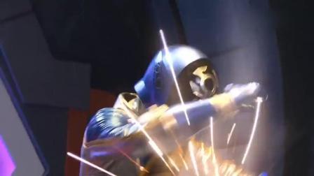 《巨神战机队》太阳战机王和星球一人打一个才能对付怪兽!