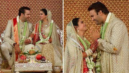 贫穷限制了想象 印度首富嫁女婚礼耗资1亿美元