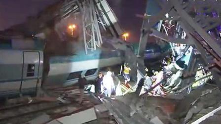 土耳其一高铁撞上高架桥 至少4人死亡43人受伤