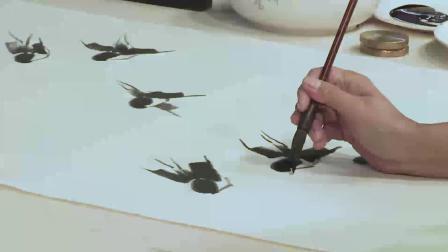 仁美大学堂徐湛教授《中国传统花鸟绘画技法》讲座视频 (九)