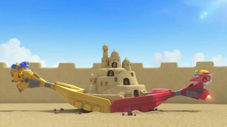 《超级飞侠5》乐迪和妙想工程队一起努力! 成功了