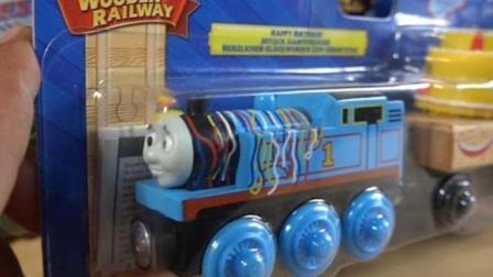 托马斯小火车带来生日蛋糕