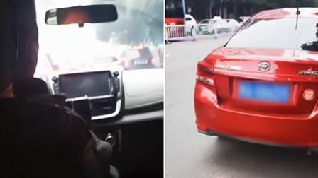 """两女子打车要求掉头 黑车司机不愿意: """"你们外地人低人一等"""""""