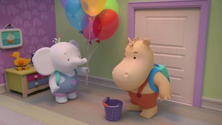 缇娜托尼:缇娜托尼去摘蘑菇蓝莓,托尼决定带两只桶!