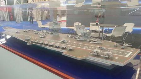 俄罗斯4.4万吨全新轻航母方案 满身低级错误
