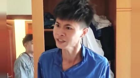 许华升: 你开玩笑咯? 我几千块钱的东西放外面