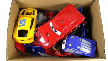 汽车总动员组装 汽车玩具换外壳