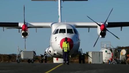 螺旋桨飞机起飞瞬间和降落画面, 为何螺旋桨速度看起来这么慢?
