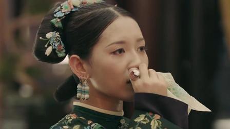 延禧攻略: 璎珞被封皇贵妃时, 手里拿的东西暴露了她的真实目的!