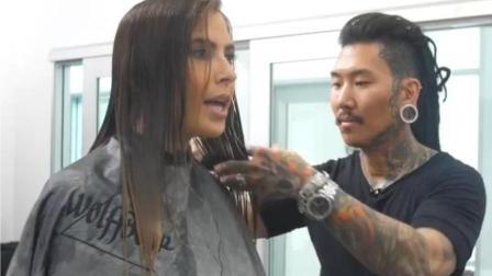 这应该是世界上最贵的理发师了, 一次20多万, 剪一次3天, 土豪排队订!