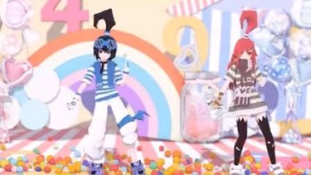 """呆毛姐弟◆""""衰仔!好好跳舞!""""""""知道了啦!""""「Shake it off」"""