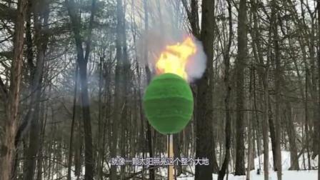国外牛人脑洞大开, 将4万根火柴摆成圆球一次性