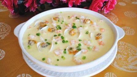 超适合冬天吃的虾仁蒸水蛋, 不仅美味还暖胃, 做法非常简单