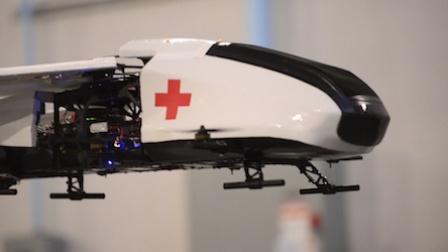 《走进美国》无人飞行救护车未来3年内问世