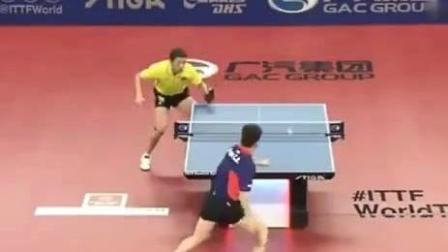 许昕乒乓球运动员国之骄傲, 精彩瞬间全体起立为