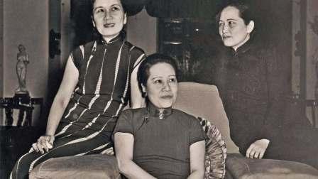 一个能影响中国政坛的女性, 宋家老二老三的婚烟