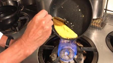 今天才知道, 做蛋包饭难道要下两次锅?