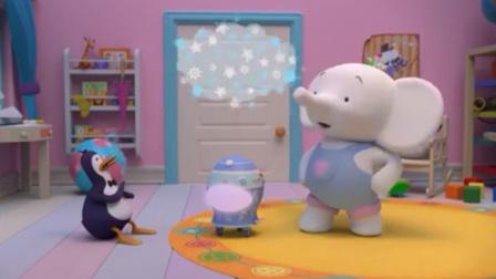 缇娜托尼:缇娜闯了大祸,因为它,所有地方都结冰了!