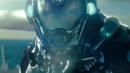 超级战舰: 外星人美国大兵, 没想到一枚炮弹瞄准它!