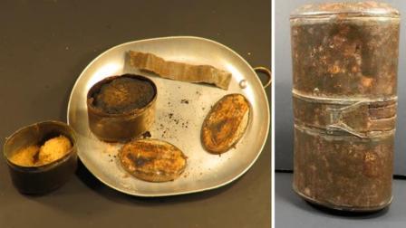1899年的军用罐头, 隔着屏幕都觉得臭, 小伙却拆开就吃!
