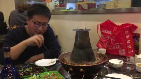 河北沧州青县火锅鸡, 天挺冷, 人挺多