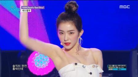 Red Velvet回归音乐中心最新舞台 今日份的超美红贝贝
