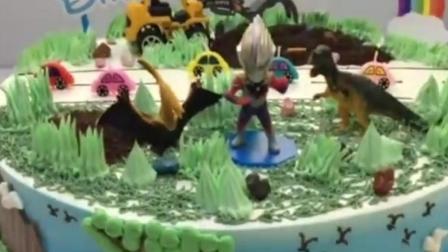 卡通生日蛋糕做法 圣诞节快给孩子做一个
