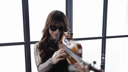 才女60秒小提琴演奏, 超带感!