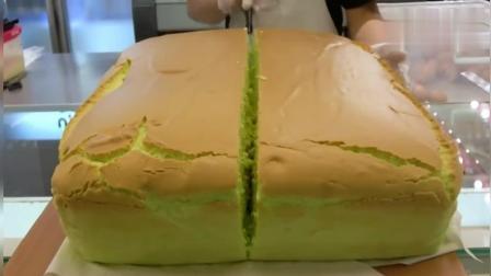 风味人间: 这切蛋糕的工作就是不要钱都愿意干! 像果冻一样的蛋糕