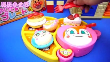 面包超人的便当早餐盒玩具, 小朋友对这样的饭盒真是爱不释手啊