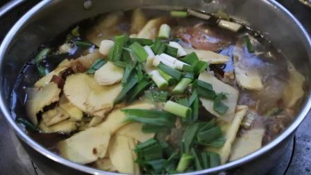 常德钵子菜: 3棵冬笋2两腊肉, 能让我吃四五碗饭