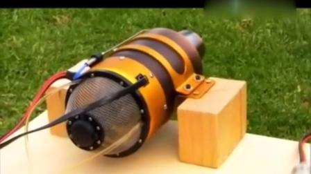 民间牛人自制喷气式发动机引擎, 网友戏称: 军用