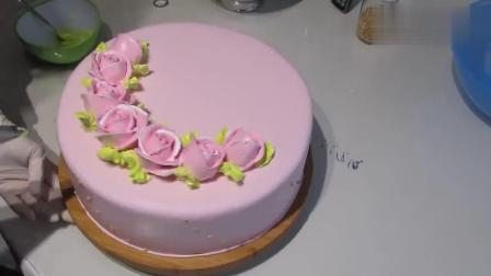 牛人制作的翻糖蛋糕, 好精致的花朵, 超赞