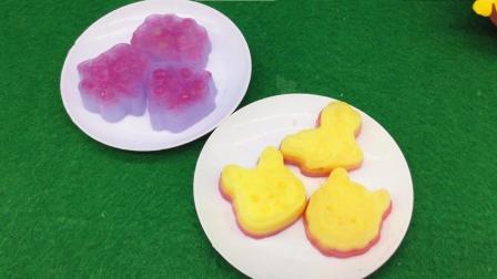 玩趣屋食玩系列视频 第一季 嘉娜宝日本食玩儿童手工制作气泡果子露