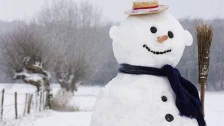冬天, 你遇见过这样一只雪人吗?
