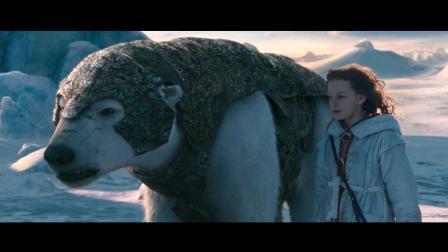 电影: 年轻北极熊王子和熊王单挑, 一巴掌把它拍趴下了