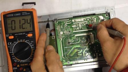 atx开关电源电路3.3V电压产生原理、电感和负载分压, 得到3.3V稳定直流电压