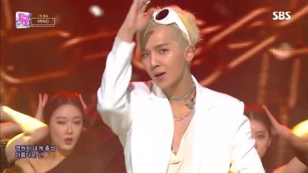 WINNER宋闵浩出道人气歌谣最新舞台 闪亮高帽和墨镜相当帅气了