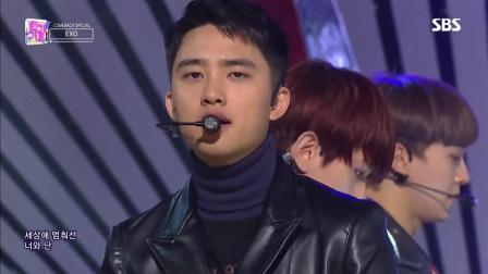 EXO回归后续人气歌谣首秀 被爱情子弹击中了心脏