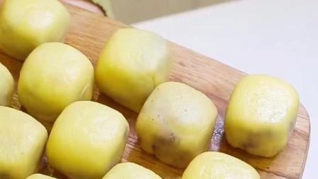 紫薯仙豆糕太好吃了, 在家里也能自己制作, 你学会了吗