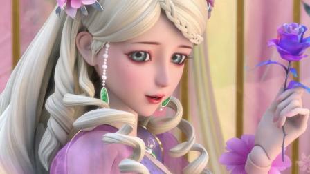 《叶罗丽》灵公主向王默袒露自己秘密, 只可惜她听不懂